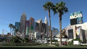 Διάσημο ξενοδοχείο και χαρτοπαικτική λέσχη MGM στο Λας Βέγκας - ΗΠΑ 2017 φιλμ μικρού μήκους