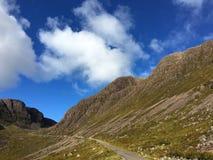 Διάσημο πέρασμα μέσω της χερσονήσου Applecross, Σκωτία Στοκ Εικόνα