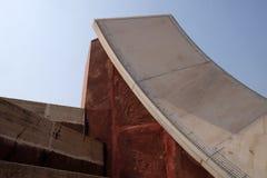 Διάσημο παρατηρητήριο Jantar Mantar στο Jaipur Στοκ Εικόνες