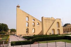 Διάσημο παρατηρητήριο Jantar Mantar στο Jaipur Στοκ εικόνες με δικαίωμα ελεύθερης χρήσης