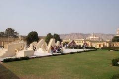 Διάσημο παρατηρητήριο Jantar Mantar στο Jaipur Στοκ Φωτογραφία