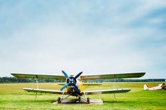Διάσημο σοβιετικό αεροπλάνο paradropper Antonov ένας-2 Στοκ Εικόνες