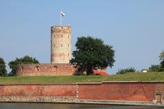 Διάσημο φρούριο Wisloujscie στο Γντανσκ, Πολωνία Στοκ Φωτογραφίες