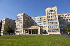 Διάσημο IG το σπίτι, προηγούμενος που χρησιμοποιείται ως έδρα του αμερικανικού βραχίονα Στοκ Εικόνα