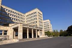 Διάσημο IG το σπίτι, προηγούμενος που χρησιμοποιείται ως έδρα του αμερικανικού βραχίονα Στοκ εικόνες με δικαίωμα ελεύθερης χρήσης