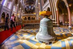 Διάσημο Markt Kirche στο Βισμπάντεν, Στοκ Εικόνες
