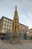 Διάσημο Schoener Brunnen στοκ φωτογραφίες με δικαίωμα ελεύθερης χρήσης