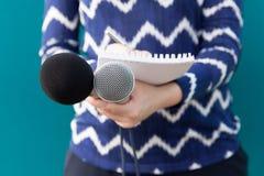 Διάσκεψη ειδήσεων δημοσιογράφων Δημόσιες σχέσεις - δημόσιες σχέσεις Στοκ εικόνες με δικαίωμα ελεύθερης χρήσης