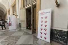 Διάσκεψη εννοιολογικού σχεδίου TED Χ NAPOLI Στοκ Εικόνες