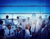 Διάσκεψη σεμιναρίου συνεδρίασης της ομαδικής εργασίας συναδέλφων επιχειρηματιών Στοκ Φωτογραφία
