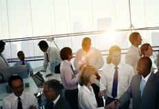 Διάσκεψη σεμιναρίου συνεδρίασης της ομαδικής εργασίας συναδέλφων επιχειρηματιών Στοκ Εικόνες