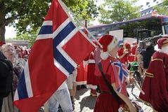 ΔΙΆΣΚΕΨΗ SANTAS Στοκ φωτογραφίες με δικαίωμα ελεύθερης χρήσης
