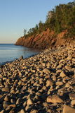 διάσπαση βράχου ακτών Στοκ Εικόνες