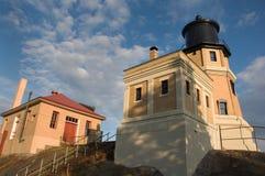 διάσπαση βράχου φάρων Στοκ Φωτογραφίες