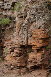 διάσπαση βράχου Στοκ εικόνες με δικαίωμα ελεύθερης χρήσης