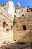 Διάσπαση, κήπος υποδομών παλατιών της Κροατίας Diocletian Στοκ Φωτογραφία