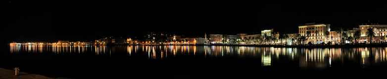 διάσπαση νύχτας Στοκ φωτογραφία με δικαίωμα ελεύθερης χρήσης