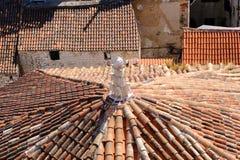 Διάσπαση, στέγη καθεδρικών ναών της Κροατίας ST Duje Στοκ Φωτογραφία