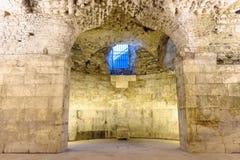 Διάσπαση, υποδομές παλατιών της Κροατίας Diocletian Στοκ Εικόνες