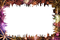 Διάστημα για τον εορτασμό κειμένων Στοκ φωτογραφίες με δικαίωμα ελεύθερης χρήσης
