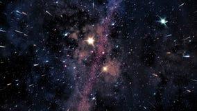 Διάστημα 2245: Πέταγμα μέσω των τομέων αστεριών στο βαθύ διάστημα απόθεμα βίντεο