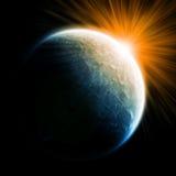 διάστημα πλανητών απεικόνι&sig διανυσματική απεικόνιση