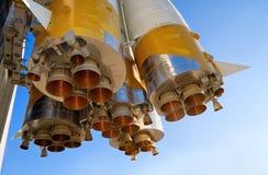 διάστημα πυραύλων μηχανών Στοκ Φωτογραφία
