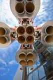 διάστημα πυραύλων μηχανών Στοκ εικόνα με δικαίωμα ελεύθερης χρήσης
