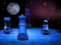διάστημα σκακιού Στοκ εικόνα με δικαίωμα ελεύθερης χρήσης