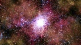 Διάστημα 2243: Ταξίδι μέσω των τομέων αστεριών στο βαθύ διάστημα διανυσματική απεικόνιση