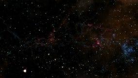 Διάστημα 2244: ταξίδι μέσω των τομέων αστεριών στο μακρινό διάστημα απεικόνιση αποθεμάτων