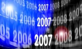 διάστημα του 2007 διανυσματική απεικόνιση