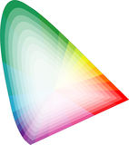 διάστημα χρώματος Στοκ Εικόνες