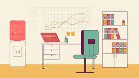 Διάστημα Coworking γραφείων Στοκ Εικόνες
