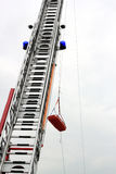 Διάσωση από τα ύψη Στοκ φωτογραφία με δικαίωμα ελεύθερης χρήσης