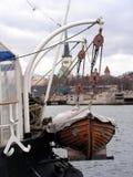 διάσωση βαρκών Στοκ φωτογραφίες με δικαίωμα ελεύθερης χρήσης