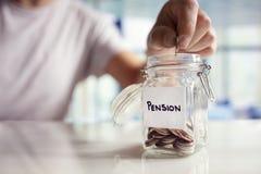 Διάσωση και συνταξιοδοτικός προγραμματισμός στοκ φωτογραφία με δικαίωμα ελεύθερης χρήσης