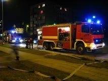 Διάσωση νύχτας Στοκ φωτογραφία με δικαίωμα ελεύθερης χρήσης