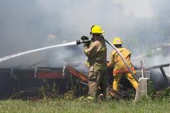 διάσωση πυρκαγιάς Στοκ Εικόνες