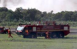 Διάσωση πυρκαγιάς Στοκ εικόνα με δικαίωμα ελεύθερης χρήσης