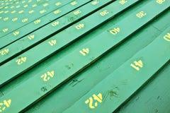 Διάταξη θέσεων πάγκων εξεδρών επισήμων Στοκ Εικόνα
