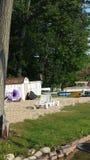 Διάταξη θέσεων όχθεων της λίμνης Στοκ εικόνα με δικαίωμα ελεύθερης χρήσης