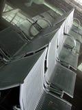 διάταξη θέσεων 2 αερολιμένων Στοκ Φωτογραφίες
