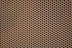 διάτρηση μετάλλων τρυπών Στοκ φωτογραφία με δικαίωμα ελεύθερης χρήσης
