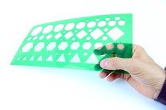 Διάτρητο που απομονώνεται πλαστικό στοκ φωτογραφία με δικαίωμα ελεύθερης χρήσης