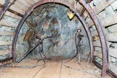 Διάτρυση στο ορυχείο Στοκ φωτογραφία με δικαίωμα ελεύθερης χρήσης