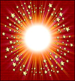 διάττοντες αστέρες πλαισίων Στοκ φωτογραφία με δικαίωμα ελεύθερης χρήσης