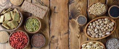 Διάφορα έξοχα τρόφιμα Στοκ Φωτογραφίες
