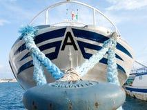 Διάφορα αλιευτικά σκάφη δένονται Στοκ φωτογραφίες με δικαίωμα ελεύθερης χρήσης