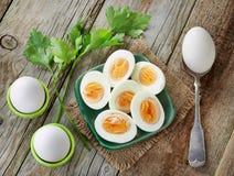 Διάφορα βρασμένα αυγά Στοκ εικόνα με δικαίωμα ελεύθερης χρήσης